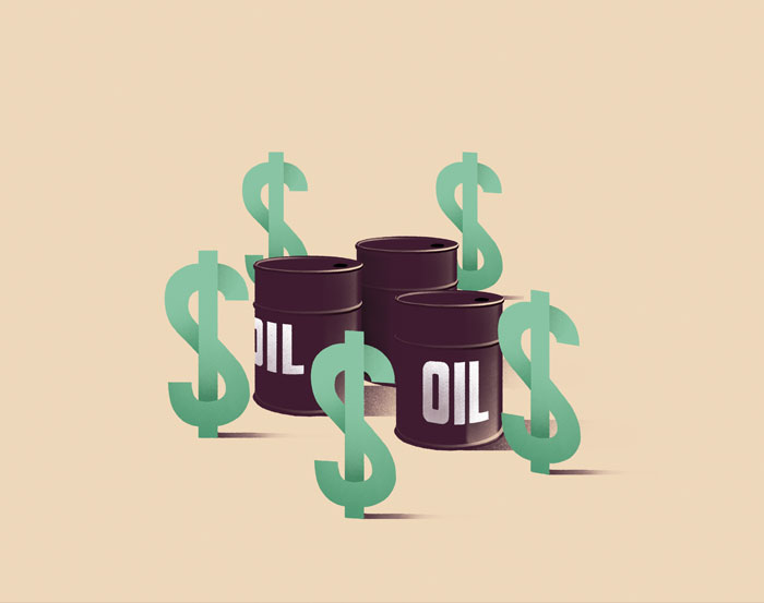 U.S. dollar and oil centre-stage