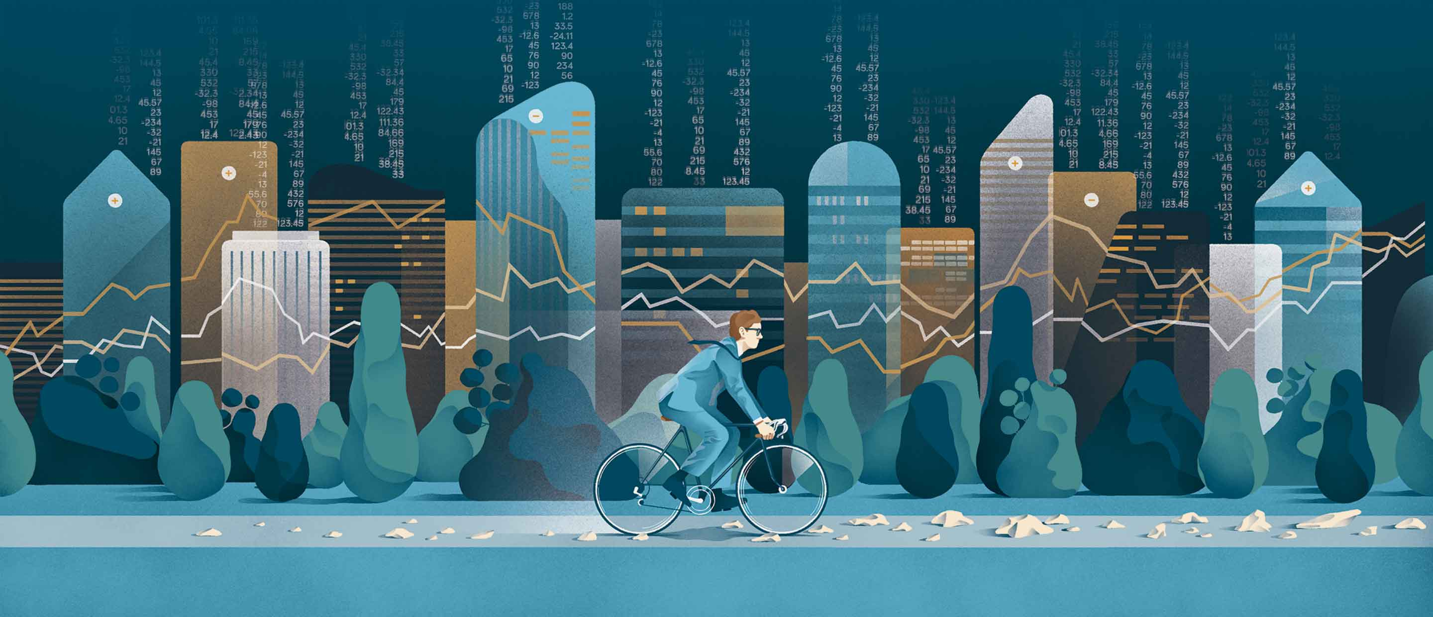 Markets on the move: riding the road ahead