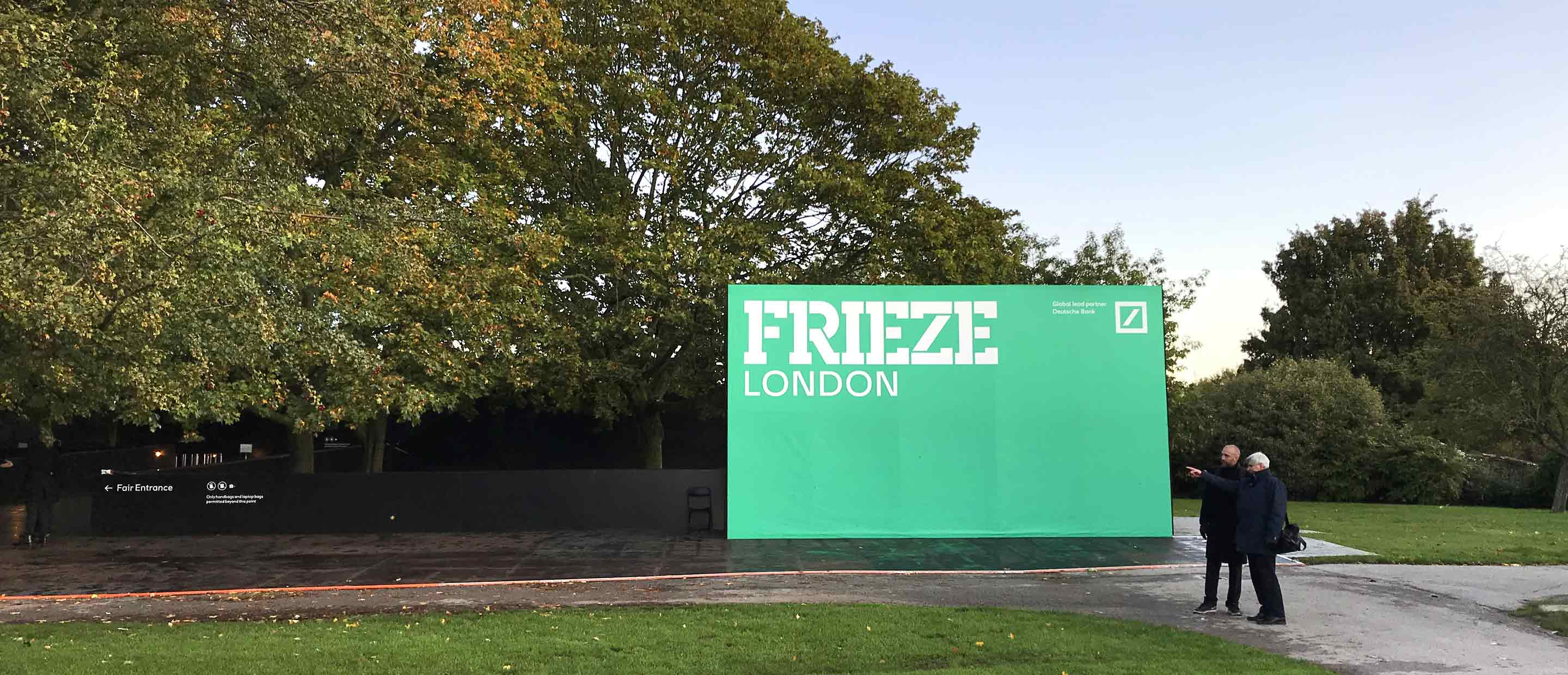 Frieze London and Frieze Masters 2019