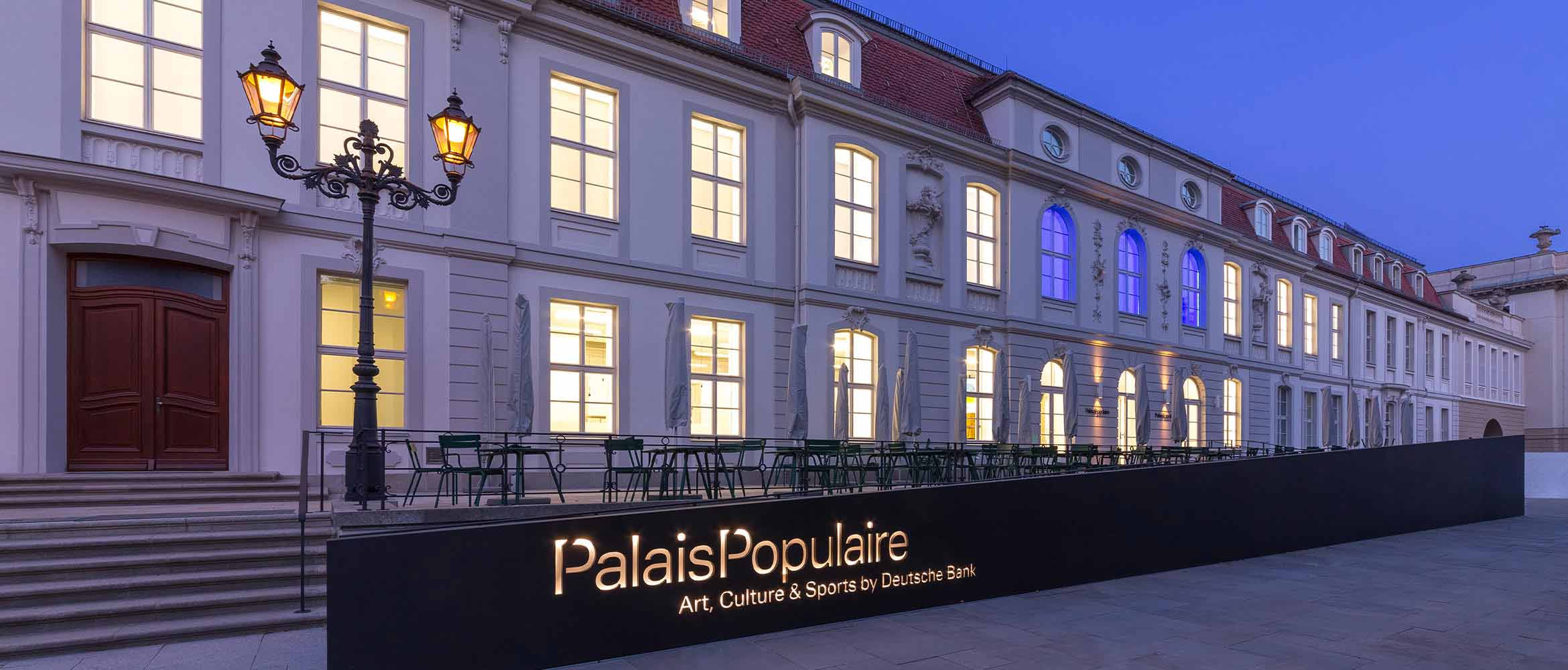 PalaisPopulaire: Berlin's grand new forum for art, culture and sport